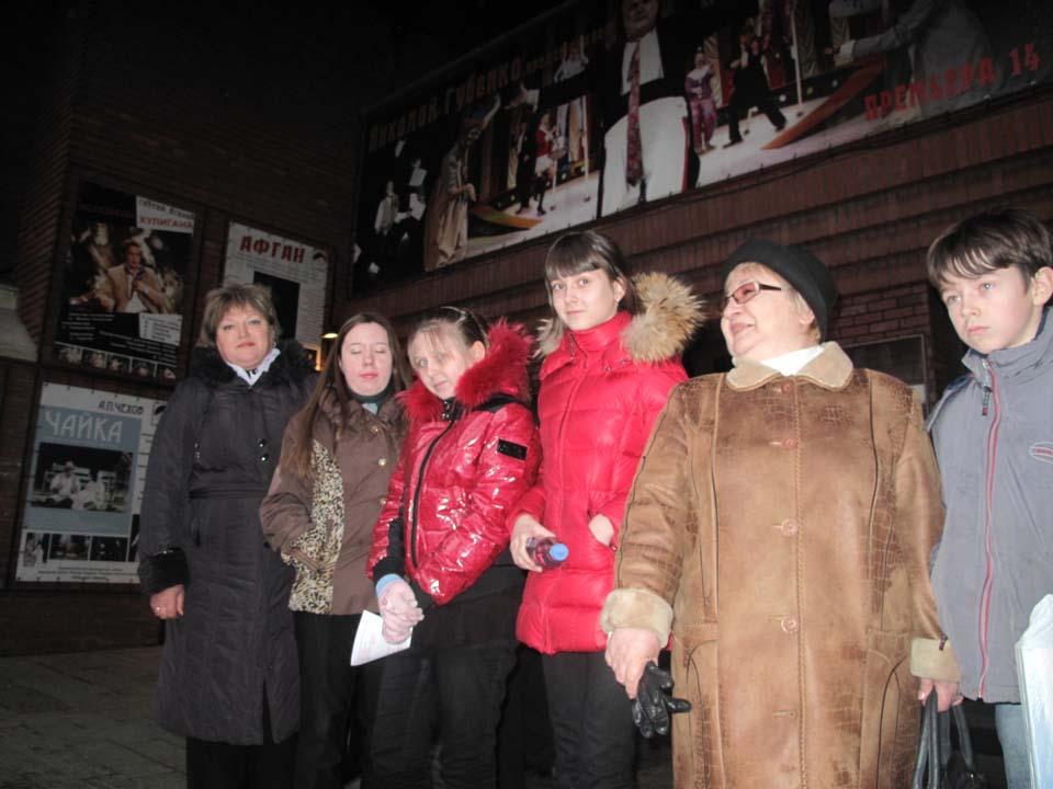 Театр содружество актеров на Таганке спектакль Афган, 6 - 9 классы.